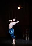English National Ballet. Le Jeune Homme et la Mort. <br /> Coliseum Theatre, London, UK;<br /> Ivan Vasiliev;