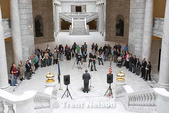 """ken verdoia.The Utah Pride Center will host a rally in honor of gay and lesbian veterans. Rep. Christine Johnson plans to announce a resolution urging Congress to end """"Don't Ask Don't Tell."""" Please get photos of the rally,Johnson and of veterans who speak. . Wednesday, November 11 2009."""