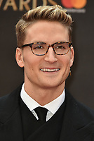 Oliver Proudlock<br /> The Olivier Awards 2018 , arrivals at The Royal Albert Hall, London, UK -on April 08, 2018.<br /> CAP/PL<br /> &copy;Phil Loftus/Capital Pictures