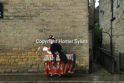 Uppermill Saddleworth Yorkshire Uk. Hobby Horse.