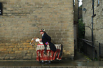 Uppermill Saddleworth Yorkshire Uk. Hobby Horse.
