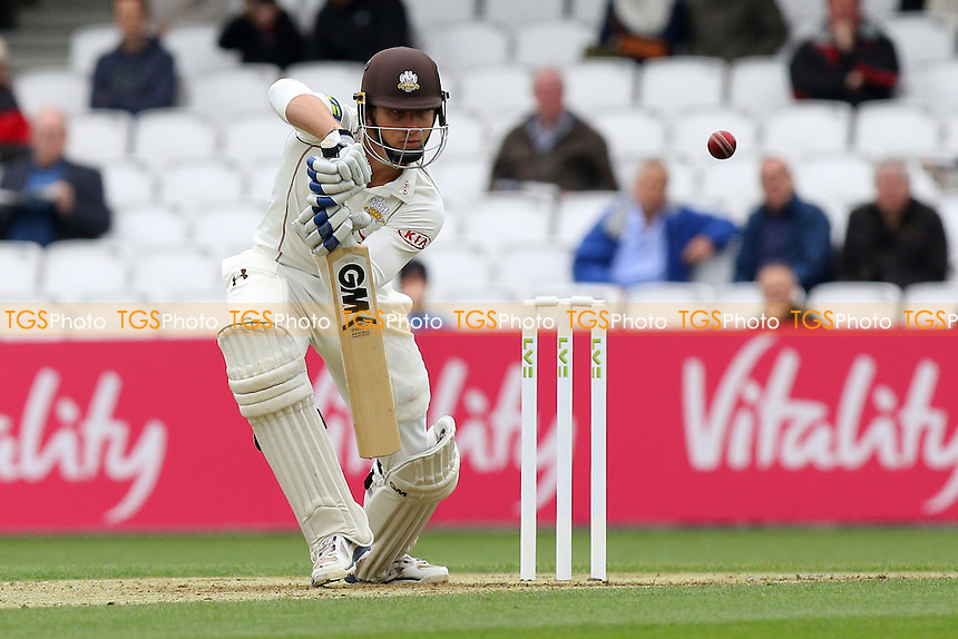 Zafar Ansari of Surrey in batting action - Surrey CCC vs Essex CCC - LV County Championship Division Two Cricket at the Kia Oval, Kennington, London - 26/04/15 - MANDATORY CREDIT: Gavin Ellis/TGSPHOTO - Self billing applies where appropriate - contact@tgsphoto.co.uk - NO UNPAID USE