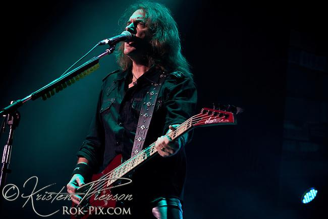 Megadeth perform at Gigantour 2013 at Mohegan Sun July 5 2013