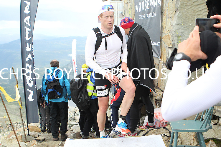 Race number 38 - Ole Christian Mork - - Sunday Norseman Xtreme Tri 2012 - Norway - photo by chris royle / boxingheaven@gmail.com
