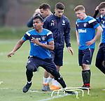 27.04.2018 Rangers training: Alfredo Morelos