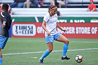 Portland, OR - Saturday June 17, 2017: Kim Decesare during a regular season National Women's Soccer League (NWSL) match between the Portland Thorns FC and Sky Blue FC at Providence Park.