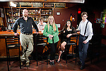 Cast and crew from The Lilith Necklace short film shot at the High Noon Saloon in Madison on May 10, 2012. (Photo by David Stluka)