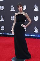 14 November 2019 - Las Vegas, NV - Paz Vega. 2019 Latin Grammy Awards Red Carpet Arrivals at MGM Grand Garden Arena. Photo Credit: MJT/AdMedia