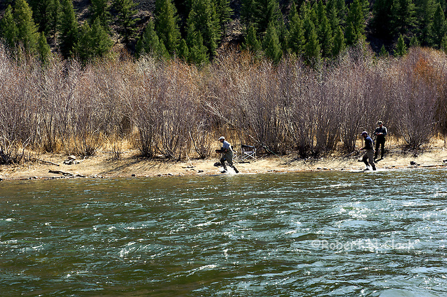 Catching a Steelhead on the Salmon River in Idaho