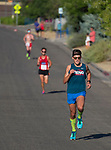 Zachary Hunt won the 49th Annual Journal Jog in Reno, Nevada on Sunday, September 10, 2017.