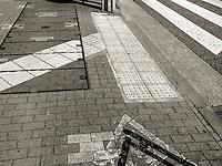 Pedestrian Communication in Ota, Japan 2014.