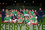 Kieran Granfield capt of the Victorous St Michael Foilmore team after they defeated Gneeveguilla in The Castleisland Mart County Intermediate Final 2008 at Austin Stack Park Tralee on Wednesday night surrounded by his fellow players and manager....................................................... ............................................................   Copyright Kerry's Eye 2008