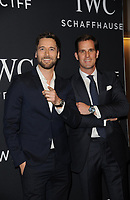 www.acepixs.com<br /> April 20, 2017  New York City<br /> <br /> Ryan Eggold and Christoph Grainger-Herr attending IWC Schaffhausen 5th Annual For the Love of Cinema Gala on April 20, 2017 in New York City.<br /> <br /> Credit: Kristin Callahan/ACE Pictures<br /> <br /> <br /> Tel: 646 769 0430<br /> Email: info@acepixs.com