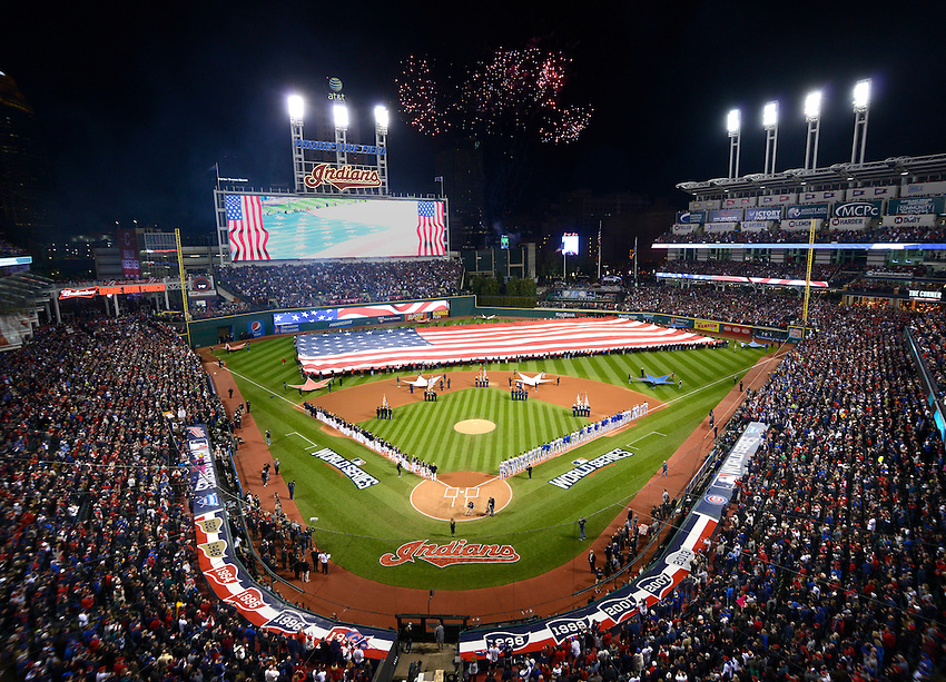 2016 World Series<br /> Chicago Cubs @ Cleveland Indians<br /> Game 1