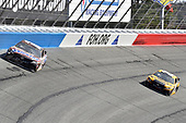 #18: Kyle Busch, Joe Gibbs Racing, Toyota Camry Snickers Creamy, #20: Erik Jones, Joe Gibbs Racing, Toyota Camry DeWalt