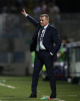 Football: Uefa under 21 Championship 2019, England - France, Dino Manuzzi stadium Cesena Italy on June18, 2019.<br /> England's coach Aidy Boothroyd gestures during the Uefa under 21 Championship 2019 football match between England and France at Dino Manuzzi stadium in Cesena, Italy on June18, 2019.<br /> UPDATE IMAGES PRESS/Isabella Bonotto