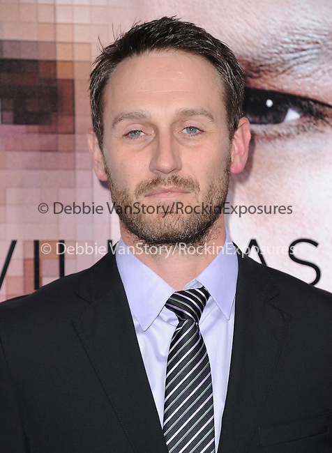 """Josh Stewart attends The L.A. Premiere of Alcon Entertainment's """"TRANSCENDENCE"""" held at The Regency Village Theater in Westwood, California on April 10,2014                                                                               © 2014Hollywood Press Agency"""