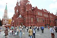 Historisches Musem am Roten Platz in Moskau - 20.06.2018: Sightseeing Moskau