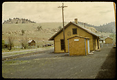 Station at Gato.<br /> D&amp;RGW  Gato (Pagosa Junction), CO