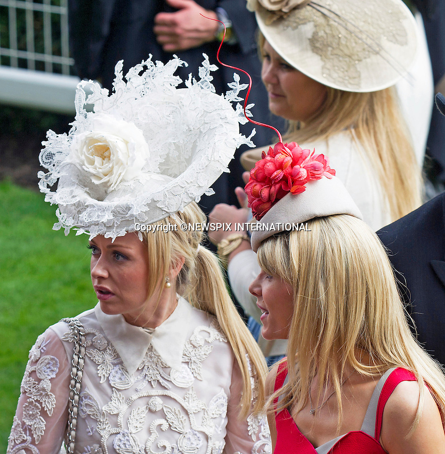 19.06.2014;Ascot, England: ROYAL ASCOT 2014 LADIES DAY - HAT FASHIONS<br /> The Queen, Duke of Edinburgh, Princes Andrew and Harry Prince Harry, Princesses Anne, Eugenie and Beatrice in attendance on the LadiesDay of the 4-day Royal Ascot Race Meeting.<br /> Mandatory Photo Credit: &copy;Francis Dias/NEWSPIX INTERNATIONAL<br /> <br /> **ALL FEES PAYABLE TO: &quot;NEWSPIX INTERNATIONAL&quot;**<br /> <br /> PHOTO CREDIT MANDATORY!!: NEWSPIX INTERNATIONAL(Failure to credit will incur a surcharge of 100% of reproduction fees)<br /> <br /> IMMEDIATE CONFIRMATION OF USAGE REQUIRED:<br /> Newspix International, 31 Chinnery Hill, Bishop's Stortford, ENGLAND CM23 3PS<br /> Tel:+441279 324672  ; Fax: +441279656877<br /> Mobile:  0777568 1153<br /> e-mail: info@newspixinternational.co.uk