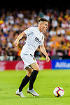 Kevin Gameiro of Valencia CF in action during their La Liga 2018-19 match between Valencia CF and FC Barcelona at Estadio de Mestalla on October 07 2018 in Valencia, Spain. Photo by Maria Jose Segovia Carmona / Power Sport Images