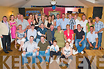 60TH SURPRISE: Kieran Greensmyth, Marin Park, Tralee (seated centre) got a big surprise when a very large group of family and friends gathered to celebrate his 60th birthday at Stokers Lodge restaurant and bar on Friday.