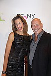 """Alicia Reiner & Carmen Marc Valvo attend the 20th Annual Annual QVC Presents """"FFANY Shoes on Sale"""" to benefit Breast Cancer Research, Education and Awareness  on Tuesday, October 1, 2013 at the Waldorf-Astoria, New York City, New York.  (Photo by Sue Coflin/Max Photos)"""