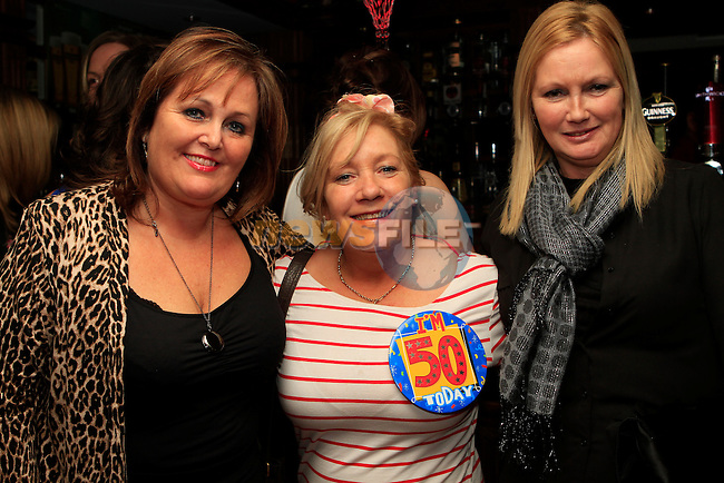 Rose Bird, Noeleen Meegan (50th birthday) and Noeleen Tiernan in Barocco...Photo NEWSFILE/Jenny Matthews..(Photo credit should read Jenny Matthews/NEWSFILE)