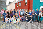 The family and friends of the late Cian O'Donoghue who attended a display of his art at the Frank Lewis gallery on Saturday