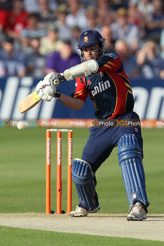 Mark Pettini in batting action for Essex - Essex Eagles vs Sussex Sharks - Friends Life T20 Cricket at the Ford County Ground, Chelmsford, Essex - 28/06/12 - MANDATORY CREDIT: Gavin Ellis/TGSPHOTO - Self billing applies where appropriate - 0845 094 6026 - contact@tgsphoto.co.uk - NO UNPAID USE.