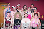 FANCY DRESS: At the Vicars & Tarts night in the Cashen Bar, Ballybunion, on Friday.night