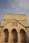 Israel, Mount Carmel, Binyamin pool in Zichron Ya'acov