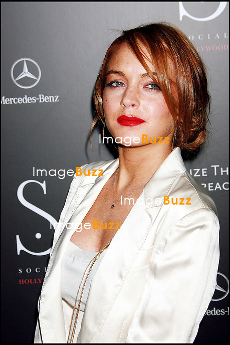 "LINDSAY LOHAN AU ""GRAND OPENING OF SOCIAL HOLLYWOOD"" A HOLLYWOOD."