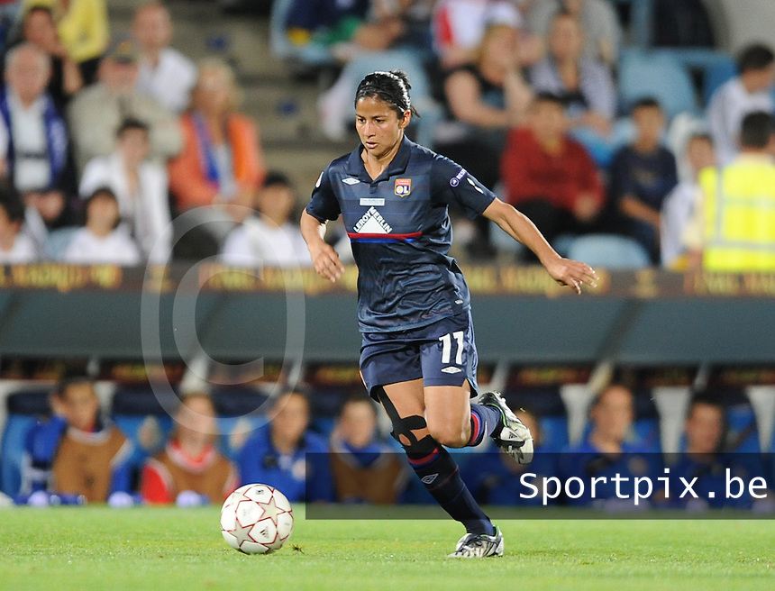 Uefa Women 's Champions League Final 2010 at  Coliseum Alfonso Perez in Getafe , Madrid : Olympique Lyon - Turbine Potsdam : Shirley Cruz Trana.foto DAVID CATRY / Vrouwenteam.be
