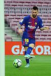 League Santander 2017/2018 - Game: 7.<br /> FC Barcelona vs UD Las Palmas: 3-0.<br /> Lionel Messi.