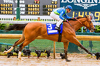 LOUISVILLE, KY - MAY 05: Big World with Florent Geroux wins the La Troienne on Kentucky Oaks Day at Churchill Downs on May 5, 2017 in Louisville, Kentucky. (Photo by Sue Kawczynski/Eclipse Sportswire/Getty Images)