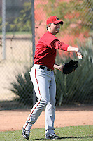 Josh Ellis, Arizona Diamondbacks 2010 minor league spring training..Photo by:  Bill Mitchell/Four Seam Images.