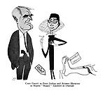 "Cary Grant as Peter Joshua and Audrey Hepburn as Regina ""Reggie"" Lambert in Charade (Charles Lambert)"