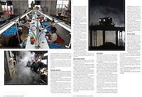7 pages in weekly magazine Suomen Kuvalehti (Finland), on December 18, 2009. Photo by Lucas Schifres/Pictobank