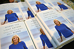 """MIAMI, FL - MAY 16: General view of books on display during an Evening with former 2nd ladie of U.S.A Dr. Jill Biden in conversation with Dr. Eduardo J. Padrón about her book """"Where the Light Enters: Building a Family, Discovering Myself"""" at Miami Dade College Presented in collaboration with the Miami Book Fair and Books and Books on May 16, 2019 in Miami, Florida. ( Photo by Johnny Louis / jlnphotography.com )"""