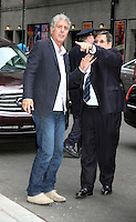 June 11, 2012: Anthony Bourdain at Late Show with David Letterman in New York City. © RW/MediaPunch Inc. NORTEPHOTO.COM