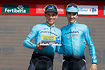 Miguel Angel Lopez (COL) Astana wins Stage 15 his 2nd stage victory of the 2017 La Vuelta, running 129.4km from Alcal&aacute; la Real to Sierra Nevada. Alto Hoya de la Mora. Monachil, Spain. 3rd September 2017.<br /> Picture: Unipublic/&copy;photogomezsport | Cyclefile<br /> <br /> <br /> All photos usage must carry mandatory copyright credit (&copy; Cyclefile | Unipublic/&copy;photogomezsport)