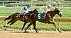 Disco Barbie winning at Delaware Park on 9/24/12