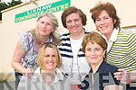 COMMITTEE: Delighted with the recent reopening of the newly refurbished LIxnaw Community Centre are the committee. front l-r Delores McElligott and Eithne McAuliffe. Back l-r Bernie O'Shea, Mary Curran and Catriona Walsh. Missing from photo are Niamh Mannion and Donal O'Callaghan.   Copyright Kerry's Eye 2008