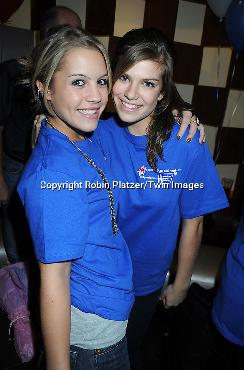 Kristen Alderson and Kelley Missalattending the 7th Annual Daytime Stars and Strikes Bowling Event on October 10, 2010 at Leisure Time Bowling Facility in New York City. The event benefited The American Cancer Society.