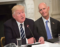 Donald Trump hosts the Infrastructure Summit with Governors and Mayors