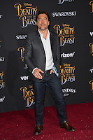 Javier Bardem at the premiere for Disney's &quot;Beauty and the Beast&quot; at El Capitan Theatre, Hollywood. Los Angeles, USA 02 March  2017<br /> Picture: Paul Smith/Featureflash/SilverHub 0208 004 5359 sales@silverhubmedia.com