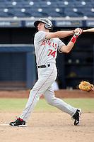 Andrew Romine - Mesa Solar Sox - 2010 Arizona Fall League.Photo by:  Bill Mitchell/Four Seam Images..