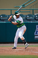 South Florida Bulls third baseman David Villar (10) at bat during a game against the Dartmouth Big Green on March 27, 2016 at USF Baseball Stadium in Tampa, Florida.  South Florida defeated Dartmouth 4-0.  (Mike Janes/Four Seam Images)