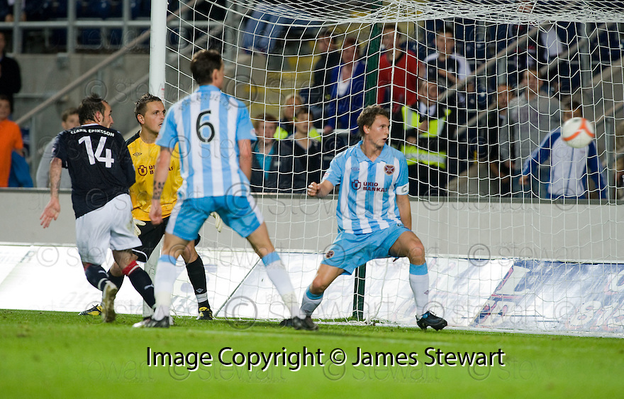 21/09/2010   Copyright  Pic : James Stewart.sct_jsp009_falkirk_v_hearts  .:: MARK STEWART SCORES THE WINNING FOURTH GOAL FOR FALKIRK :: .James Stewart Photography 19 Carronlea Drive, Falkirk. FK2 8DN      Vat Reg No. 607 6932 25.Telephone      : +44 (0)1324 570291 .Mobile              : +44 (0)7721 416997.E-mail  :  jim@jspa.co.uk.If you require further information then contact Jim Stewart on any of the numbers above.........